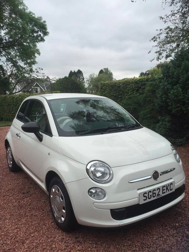 1.2L Fiat 500 Pop (Start/ Stop) 62 Plate with Additional Parrot Bluetooth