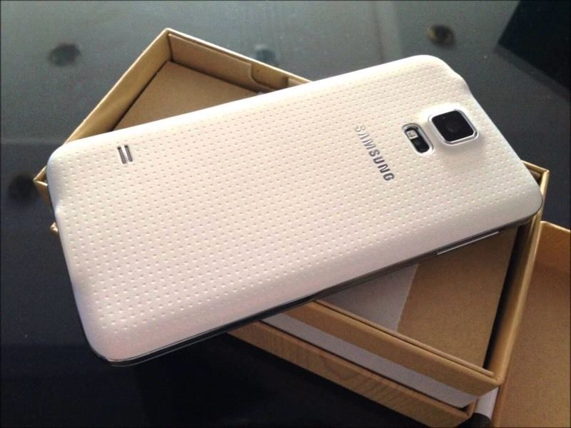 Samsung s5 White unlocked can deliver