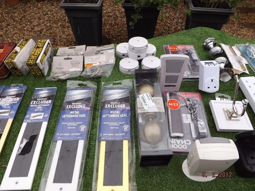 JOB LOT OF THINGS NO LONGER REQUIRED MOSTLY ALL NEW ITEMS