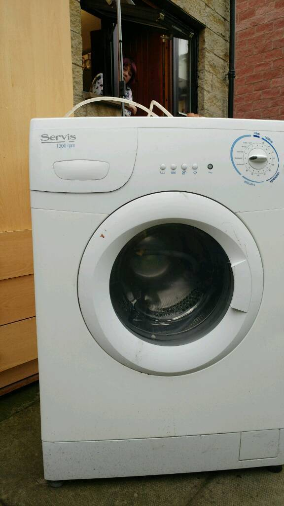 Dishwasher and washing machine for scrap or repair