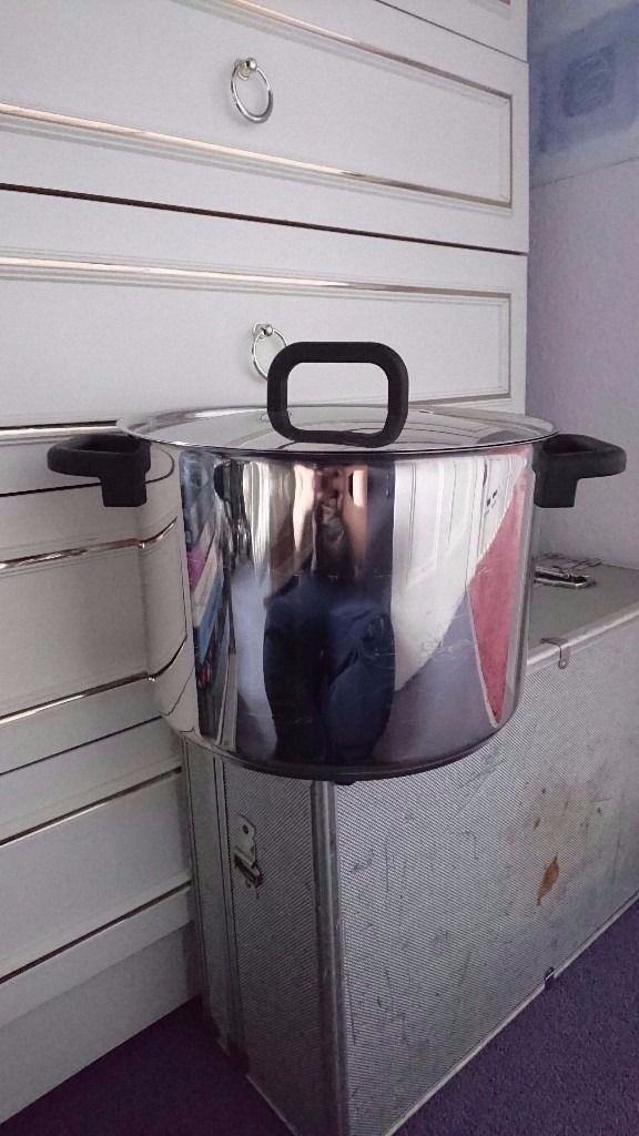 Stainless Steel Stock Pot, In Great Condition