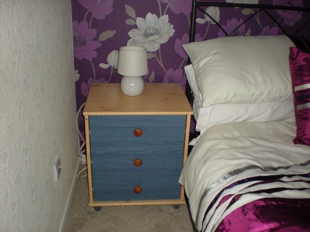 Bedside Drawers & Table Lamps