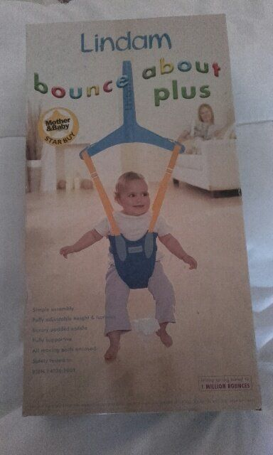 Lindam Bounce About Plus Door Bouncer