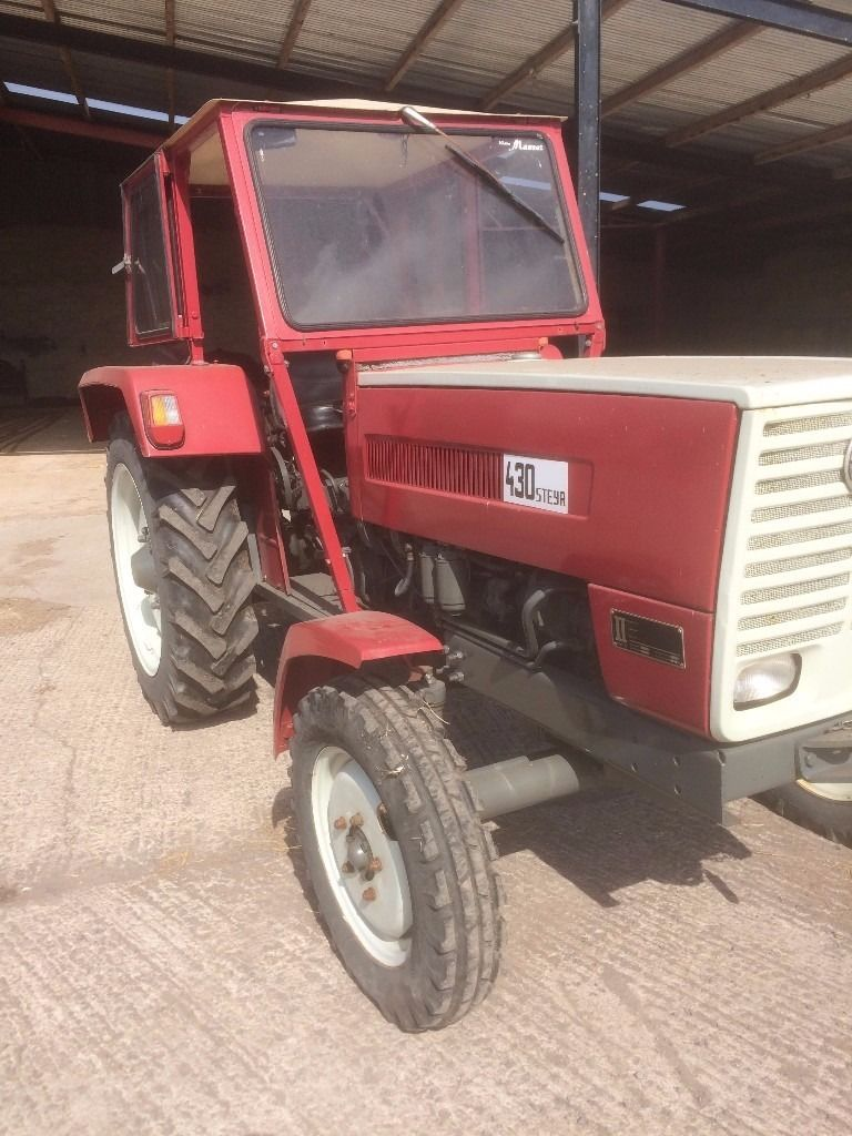 1972 Steyr Tractor for sale with cab. Good runner with 3 point linkage