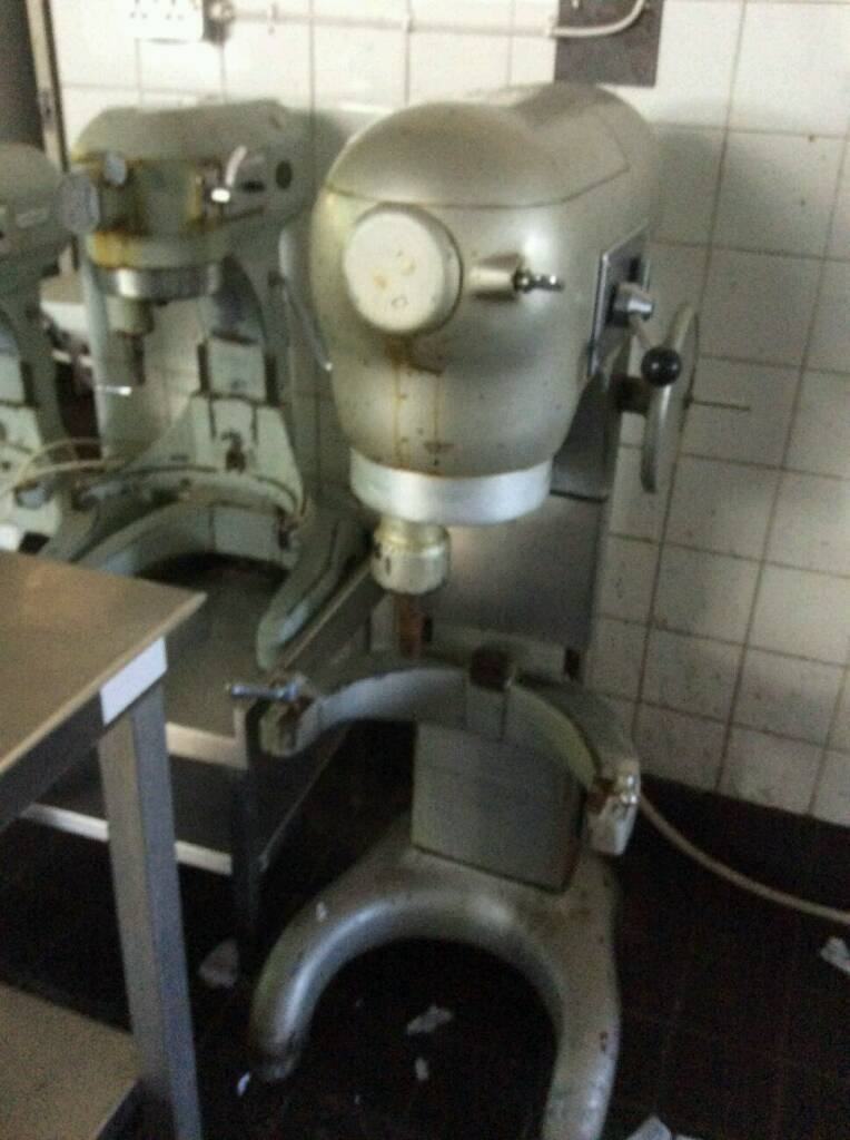 Bakery equipment. Hobart 302 planetary mixer.