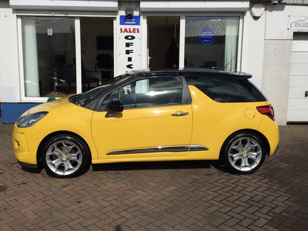 2010 10 Citroen DS3 1.6THP 150bhp DSport~LOW MILES~HISTORY~2 KEYS~1 YR MOT~