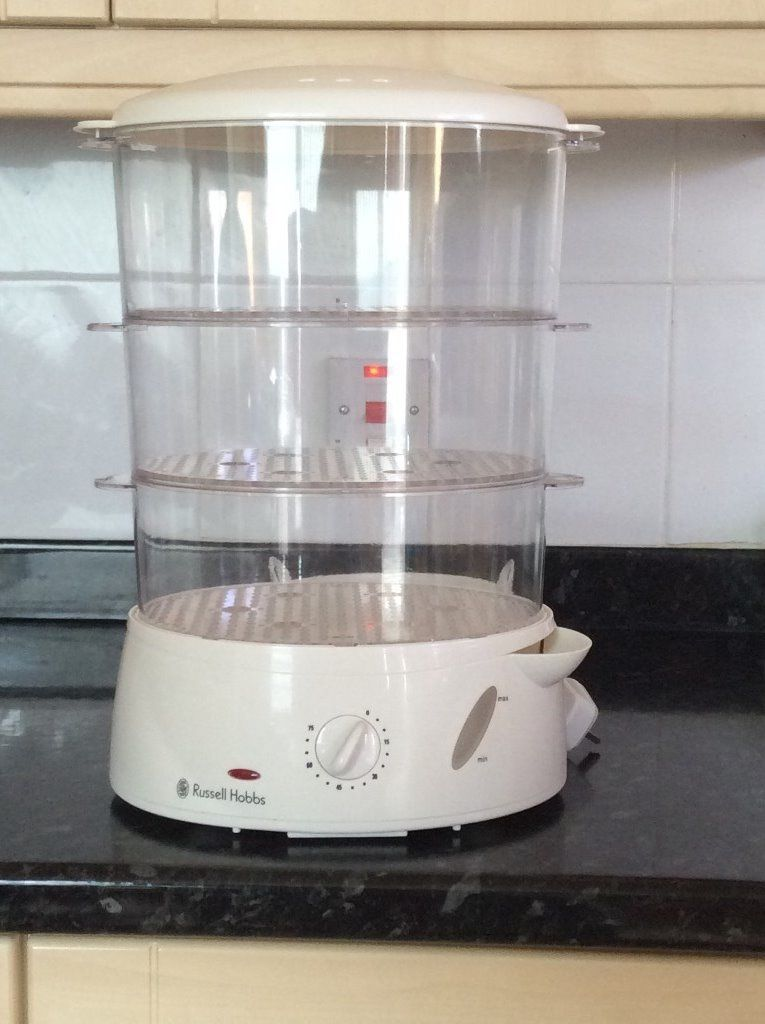 Russell Hobbs Three Tier Steamer with Timer