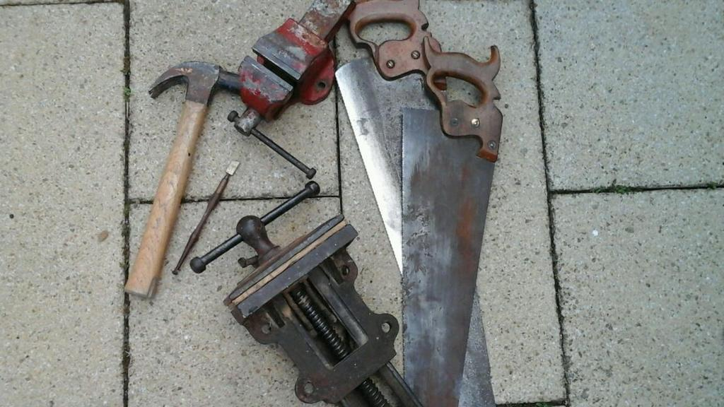 Old working tools for sale