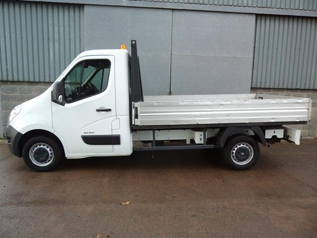 Renault Master ML35 DCi single cab drop side pick up 2010 60 reg