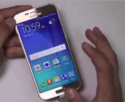 Samsung Galaxy s6 gold BARGIN