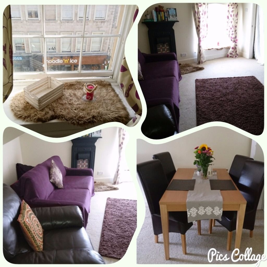 Large double room for couple in city center (EH11QR)