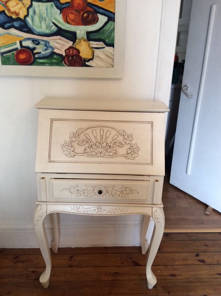 French chic Writing desk Bureau