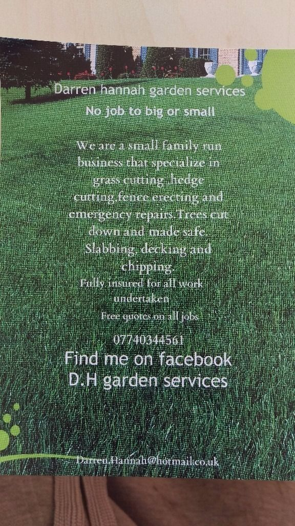 Garden and handy man services