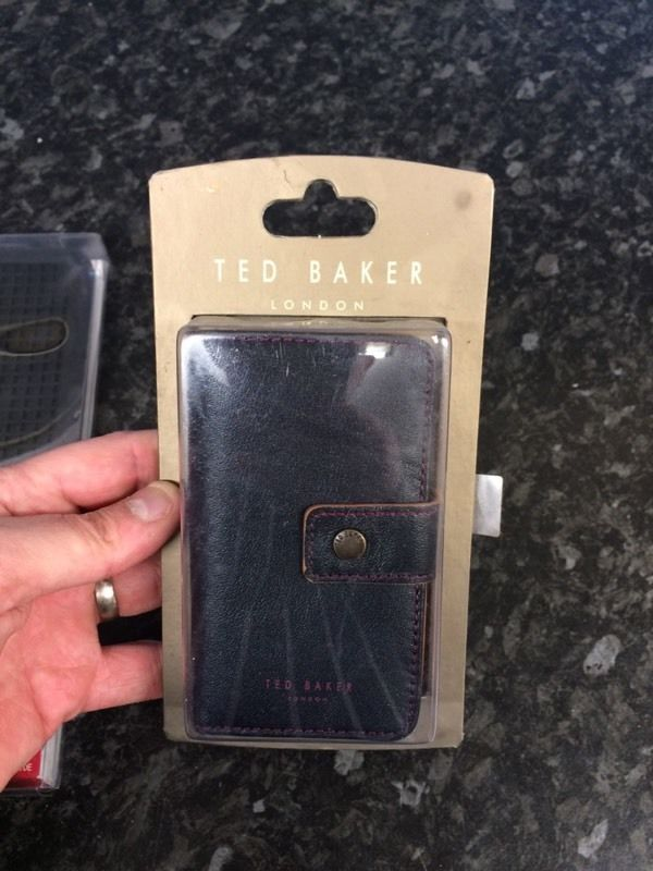 Ted baker phone wallets and iPad covers.