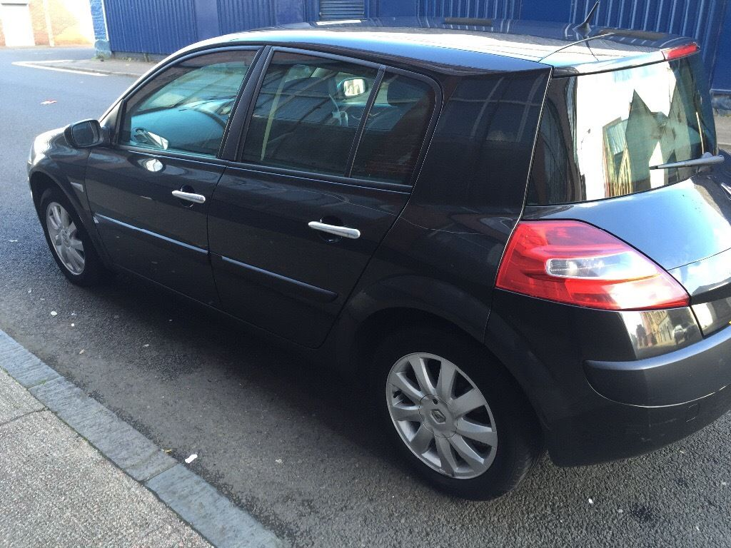 AUTOMATIC RENAULT MEGANE 2008 5DR FULL YEAR MOT YEAR MOT EXCELLENT