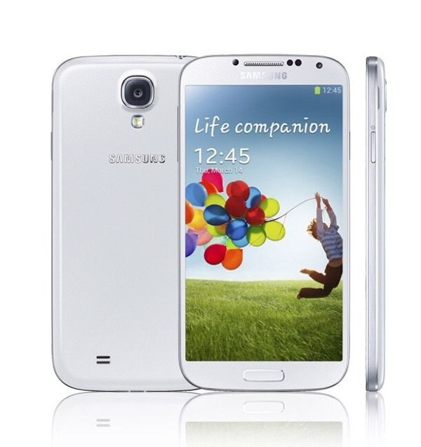 Galaxy s4 white unlocked good condition