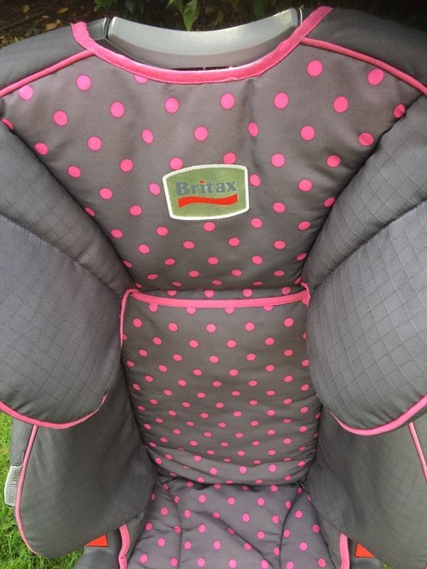 Britax high back child car seat