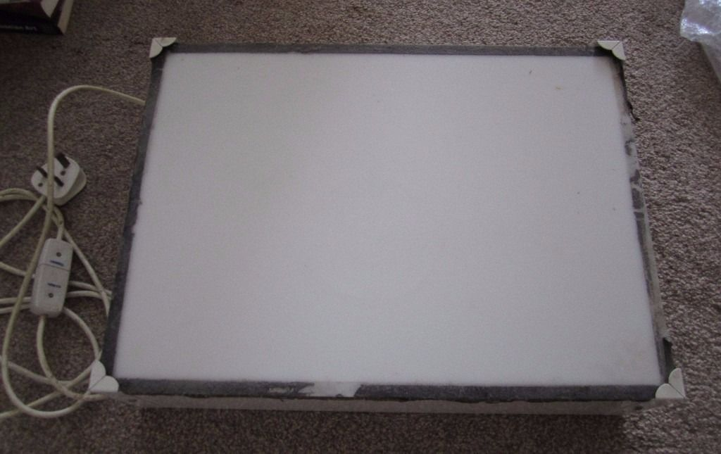 A3 Lightbox Working Condition