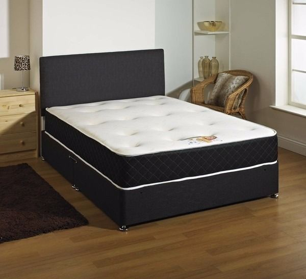 double memory foam bed with 10inch mattress