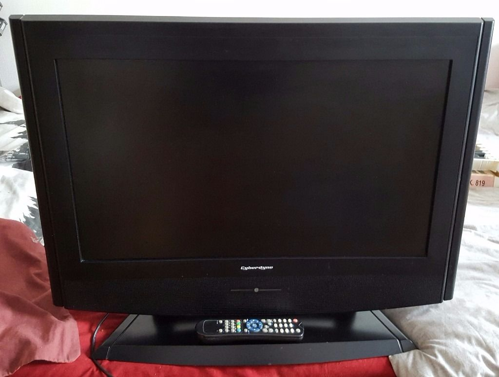 "26"" Cyberdyne TM-26751D LCD TV HD Ready with Built-in Freeview with Remote"