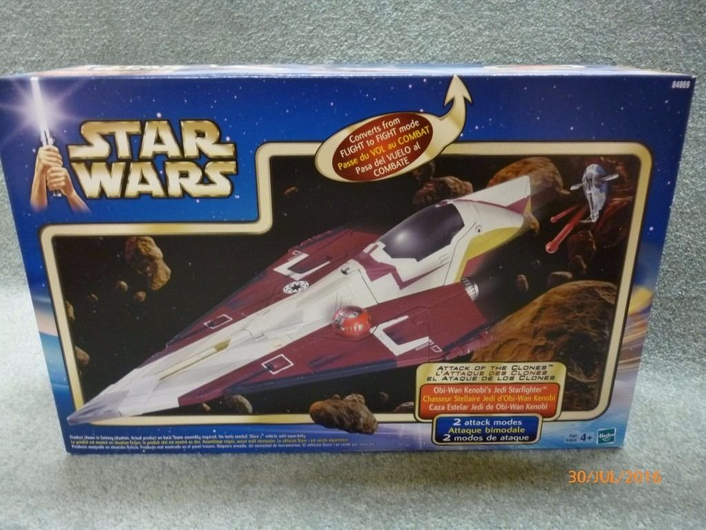Star Wars all new & sealed boxes (various prices)