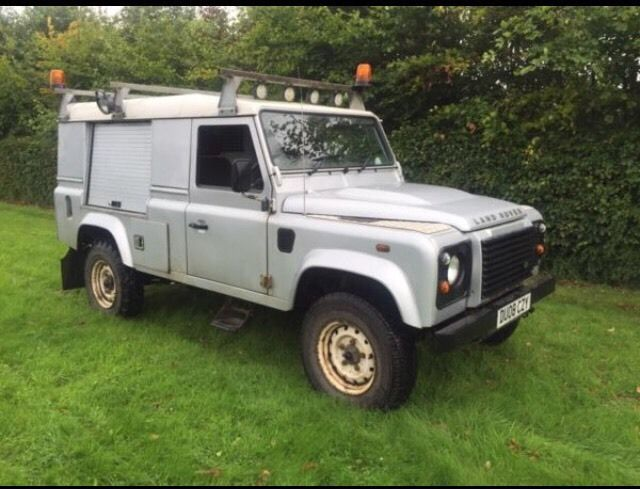 Land Rover defender 110 2.4tdci puma 6 speed utility 4x4 08plate no vat