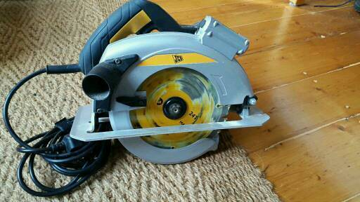 JCB circular saw used CS1400L