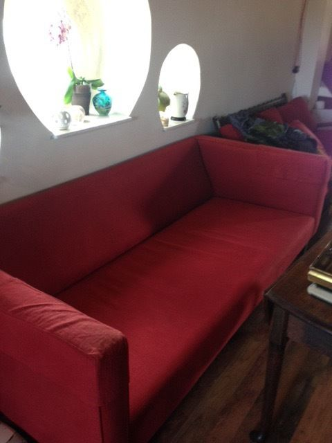 Large 7 Foot Stunning Sofa, Needs Seat & Back Cushions!