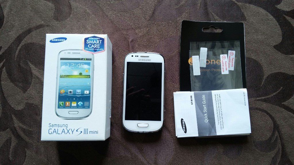 Samsung Galaxy S3 Mini White Unlocked, 8GB