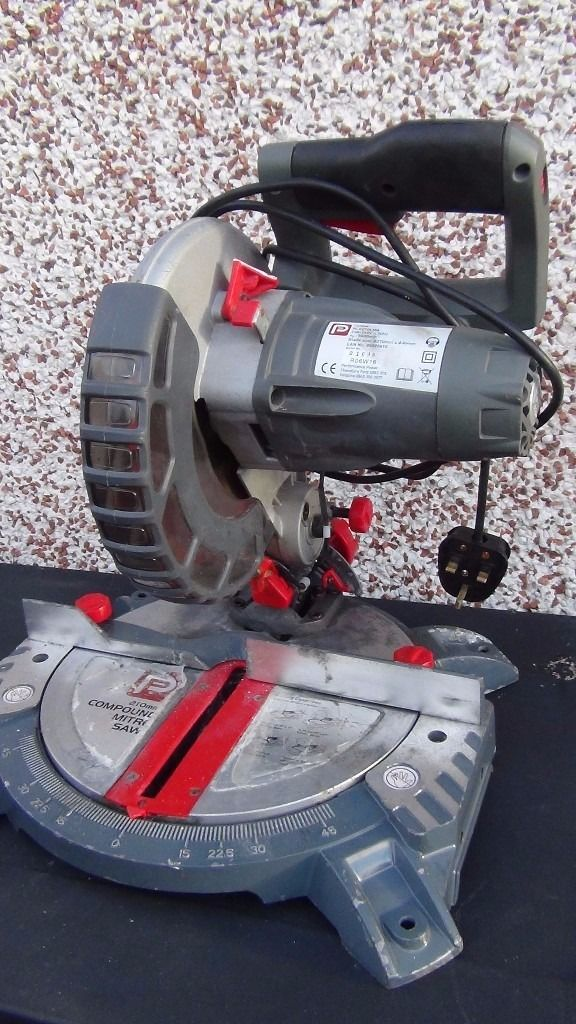 Performance Power compound mitre saw 1400 watt ,210 mm with laser pointer
