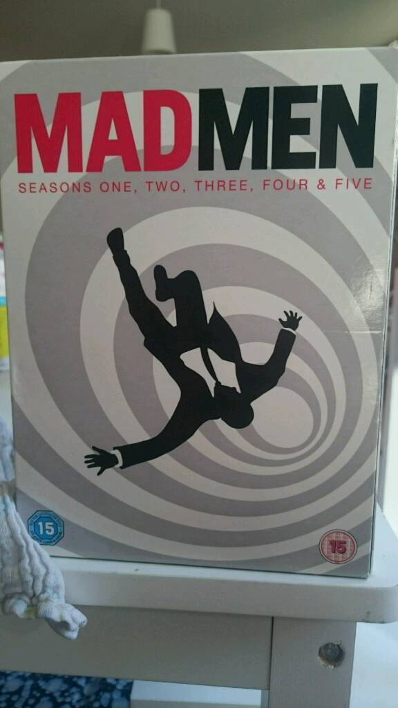 Mad men dvd boxset seasons 1-5