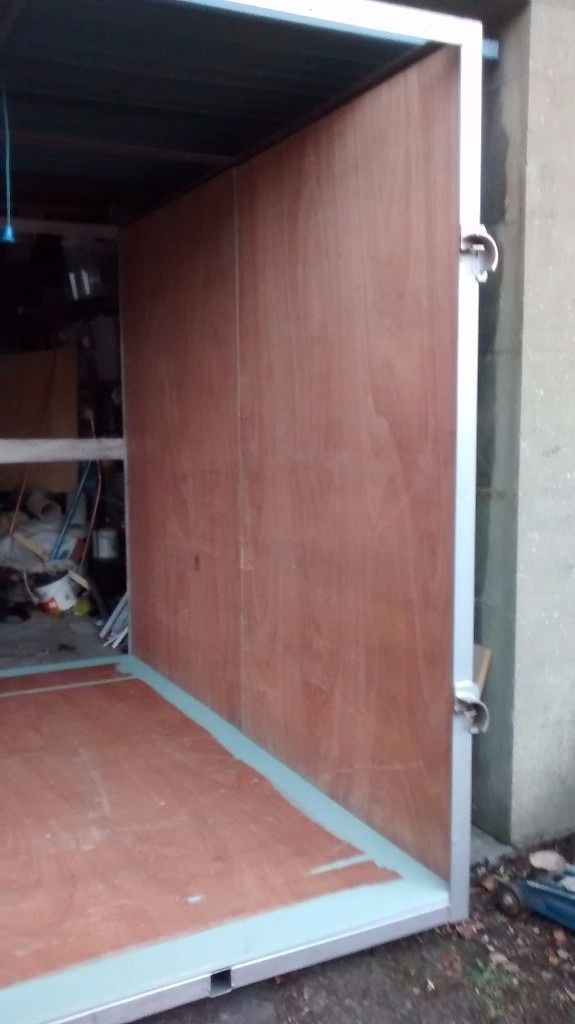 Horse box size storage unit