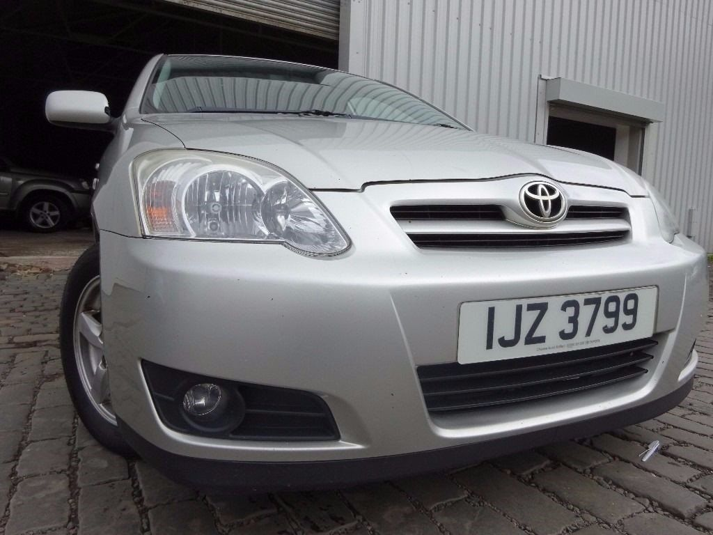 ?? 2004 TOYOTA COROLLA 1.6,5 DOOR,MOT SEPT 17,2 OWNERS,PART HISTORY,2 KEYS,VERY RELIABLE FAMILY CAR