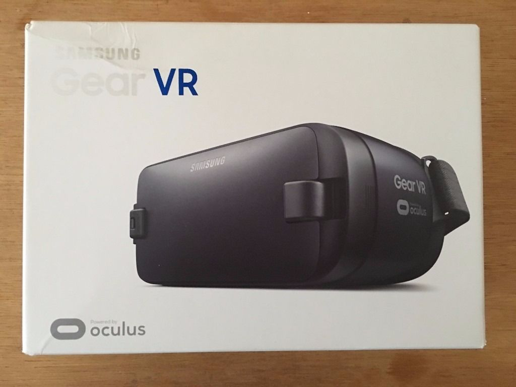 Samsung Galaxy Gear VR Black 2016 Brand New Boxed Compatible with Note 7 S6/S6 Edge, S7/S7 Edge