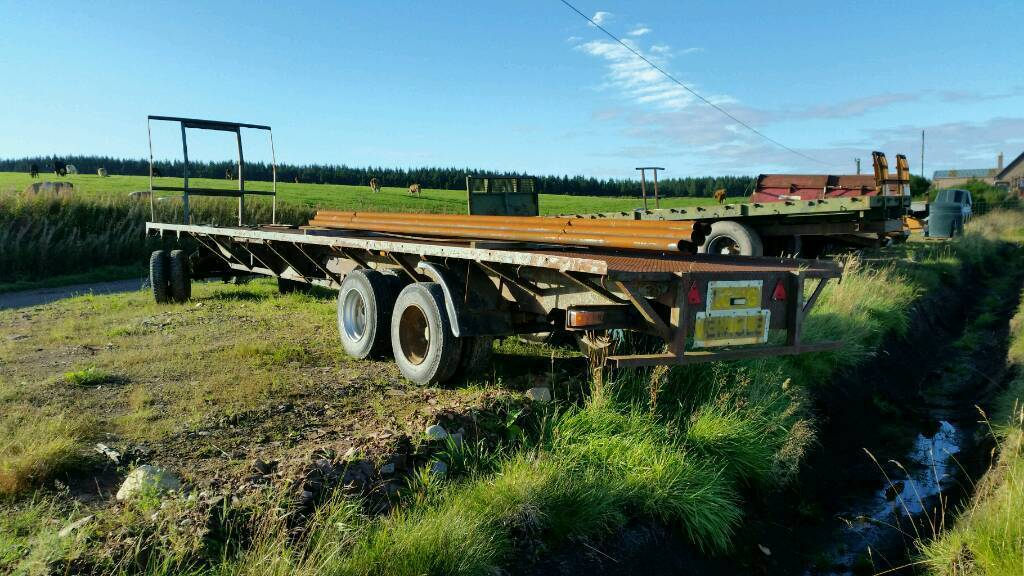 36ft articulated trailer with dolly