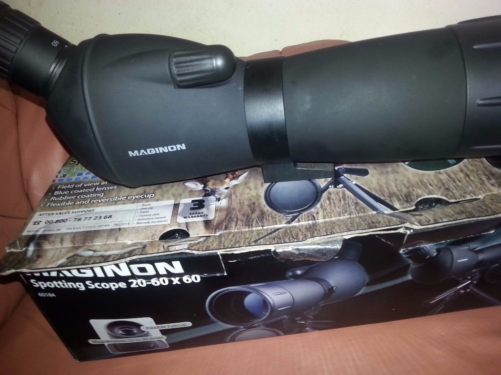 maginon spottting scope 20-60x60