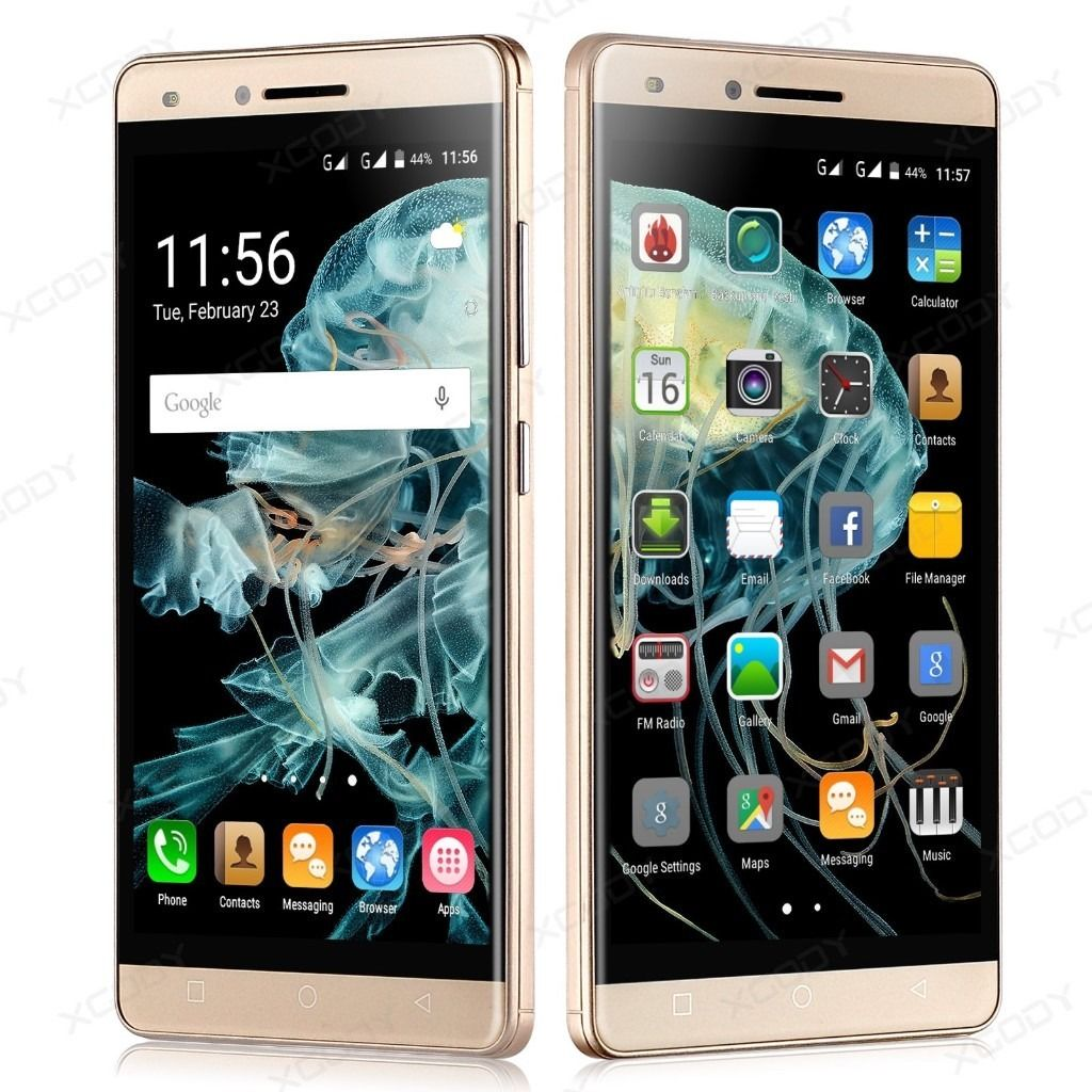 "NEW: - XGODY Unlocked 5"" qHD Smartphone 8GB/1GB Quad Core GSM 3G Android Mobile Phone GPS"