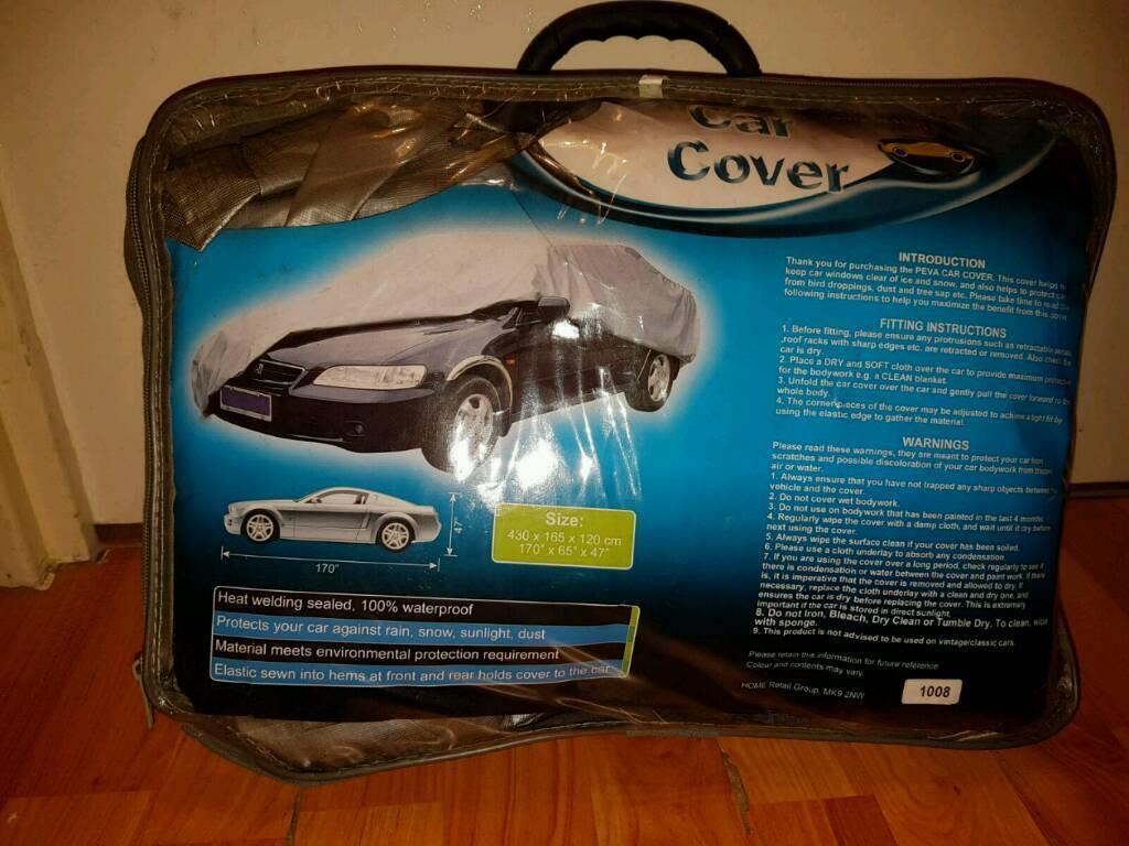 Car cover for sale.