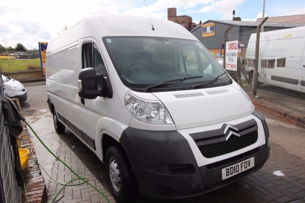 CITROEN RELAY 35 HDi 120 – 10-Reg