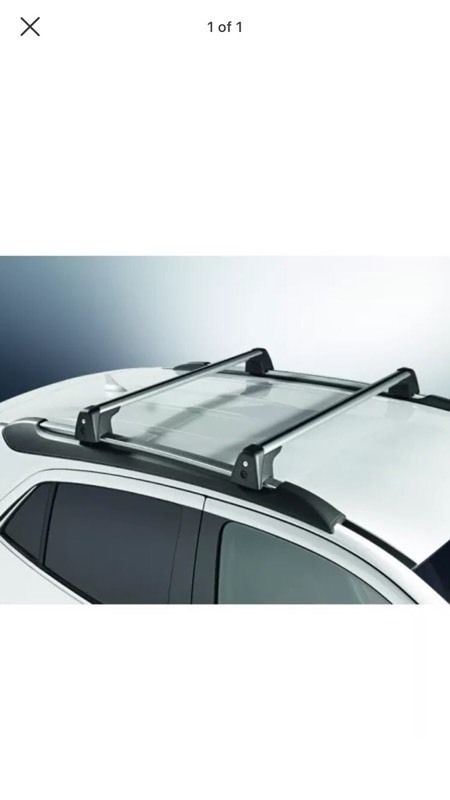 Genuine mokka roof bars