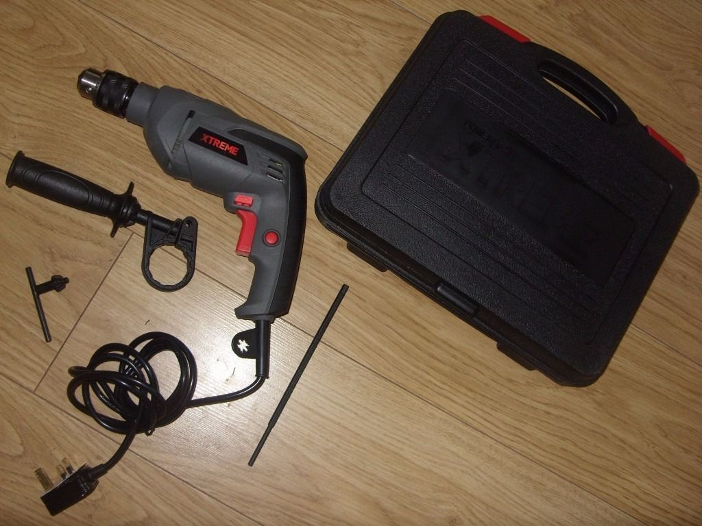 Powerbase Xtreme PDI710F Corded Hammer Drill 710W - Used Once - Great Condition