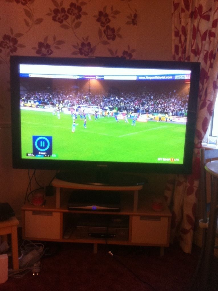 Samsung 50inch plasma display TV excellent working order pick up saltcoats only
