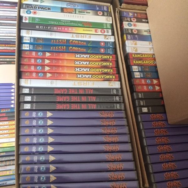 Joblot CDs and DVDs