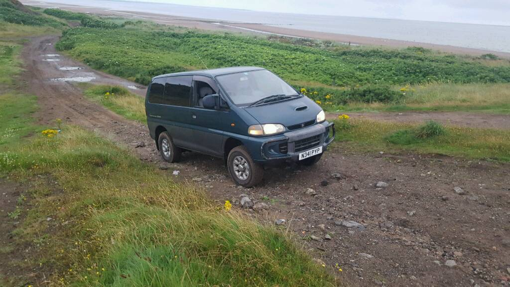 Mitsubishi delica 2.8td may take px smaller jeep plus cash my way
