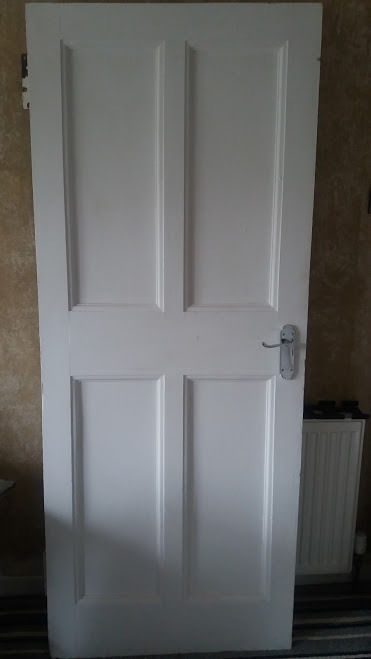 1930's solid wood original door – Great condition (Quick Sale Needed)