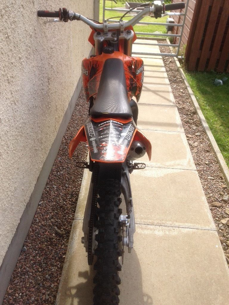 Ktm sx 85 big wheel 2004 swap for jet ski or box trailer