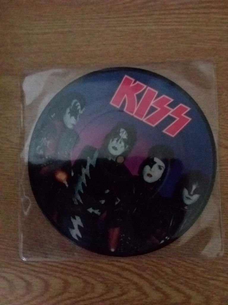 "KISS 7"" PICTURE DISC"