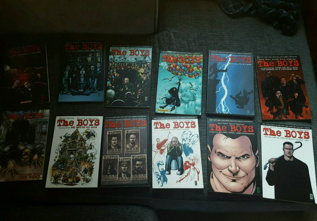 The Boys Graphic novels