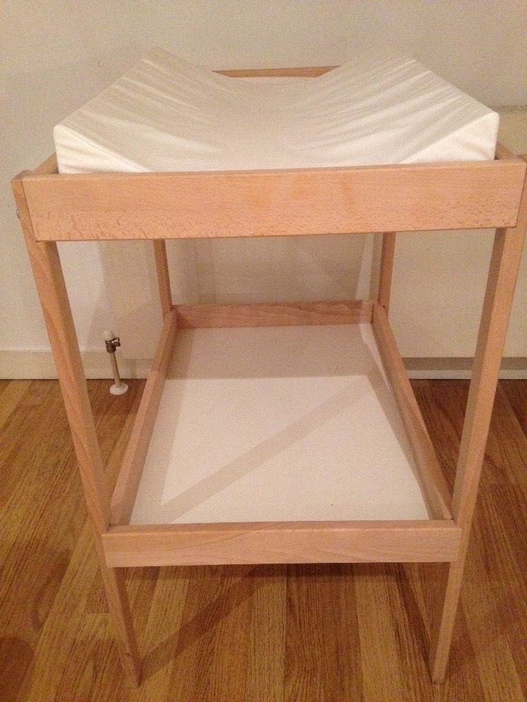 IKEA changing table with mat