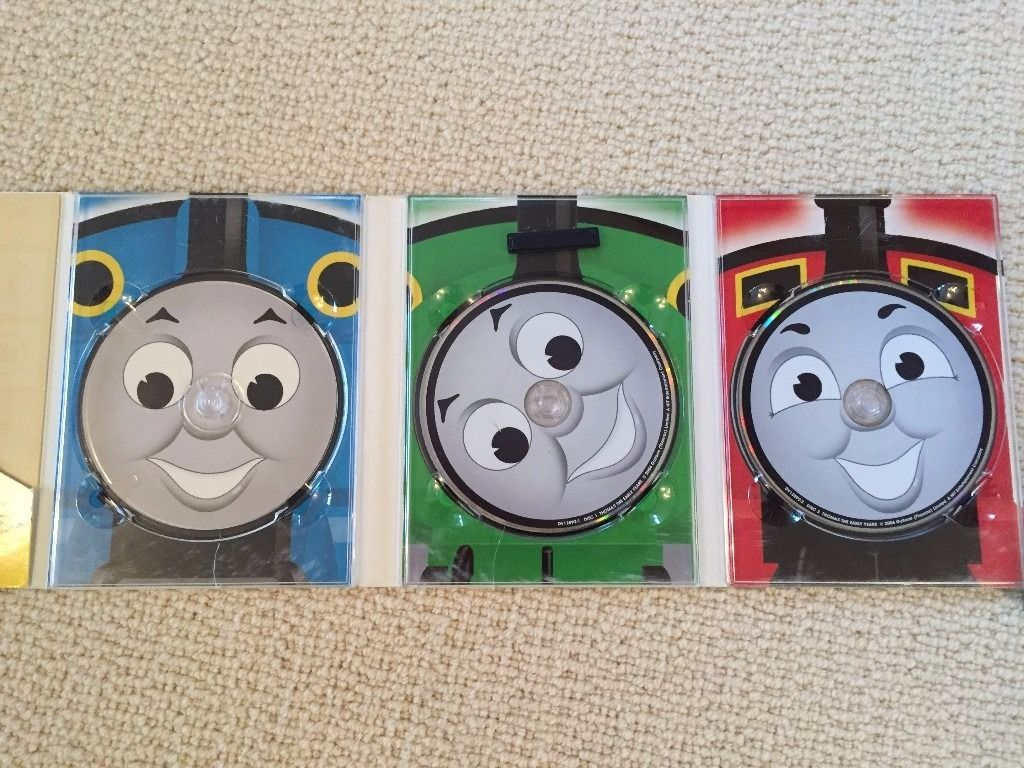 Children DVDs - Curious George, Thomas the Tank Engine and more